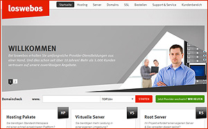 Hosting-Service-Interview - Loswebos.de