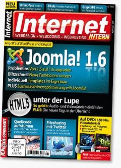 Internet Intern - Webdesign, Webcoding und Webhosting Magazin