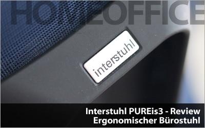 Interstuhl PUREis3 - Ergonomischer Bürostuhl Review