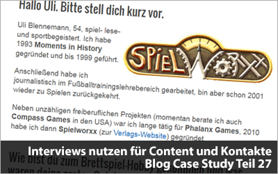 - Blog Case Study Teil 27