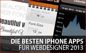 Die besten iPhone Apps für Webdesigner und -entwickler