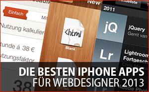 Die besten iPhone Apps für Web-Entwickler und Designer 2013 - Teil 1