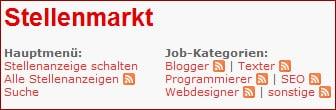 Neue Features auf der Jobs-Seite