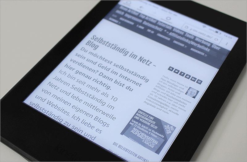Kindle Paperwhite - Meine Erfahrungen mit dem eBook-Reader von Amazon