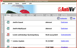 kostenlose Software - Antivir
