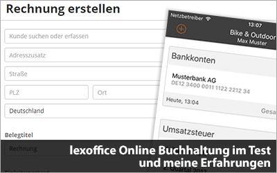 lexoffice Online Buchhaltung im Test - Selbstständig im Netz