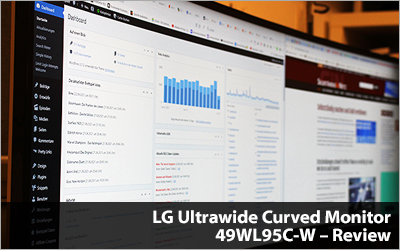 LG Ultrawide Curved Monitor 49WL95C-W - Review