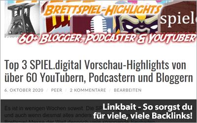 Linkbait - So sorgst du für viele, viele Backlinks!