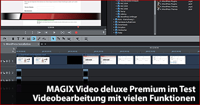 MAGIX Video deluxe Premium im Test