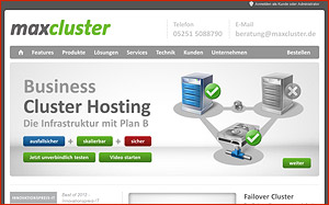 Cluster Hosting für Business-Websites - Interview mit maxcluster