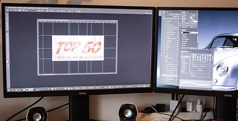 Meine neuen Büro-Monitore und warum mir diese so wichtig sind