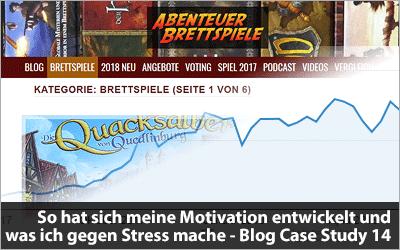 So hat sich meine Motivation entwickelt und was tun bei Stress - Blog Case Study 14