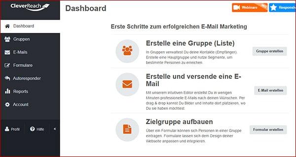 Newsletter-Anbieter und Tarif auswählen - Newsletter erstellen Teil 4