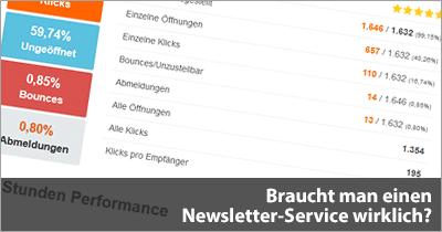 Braucht man einen Newsletter-Service wirklich?