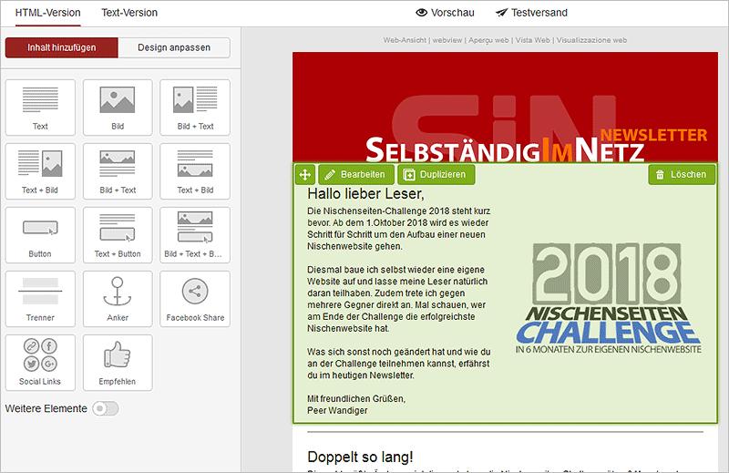 Newsletter-Services aus Deutschland im Vergleich