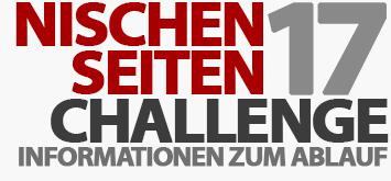 Ablauf der Nischenseiten-Challenge 2017