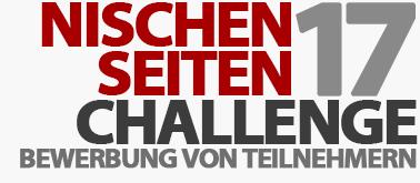 Bewerbung für die Nischenseiten-Challenge - Coaching der offiziellen Teilnehmer