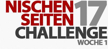 Start der Nischenseiten-Challenge 2017 - Woche 1: Nischenfindung und Prüfung