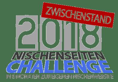 Meine Nische, meine Website, meine Gegner - Nischenseiten-Challenge 2018 Zwischenstand