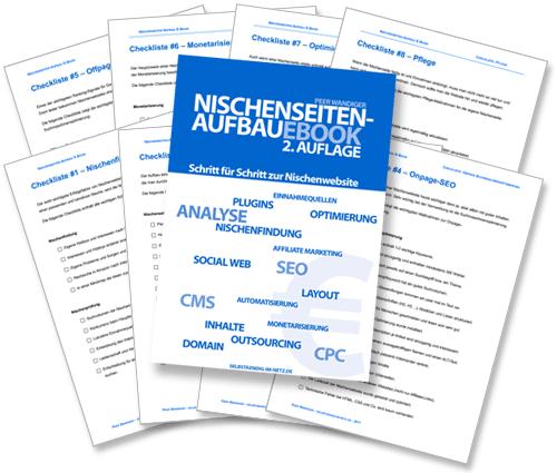 Nischenseiten-Aufbau E-Book inklusive 8 Checklisten