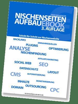 Nischenseiten-Aufbau E-Book - 3.Auflage