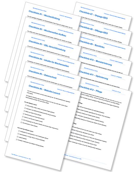 Nischenseiten-Aufbau E-Book - Schritt für Schritt Anleitung für Einsteiger