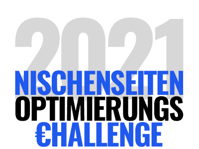 Nischenseiten-Optimierungs-Challenge 2021 - Termin, Ablauf & Teilnahme