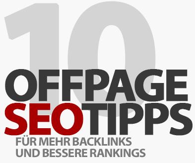 Offpage SEO Checkliste - 10 Tipps für mehr Backlinks und bessere Rankings