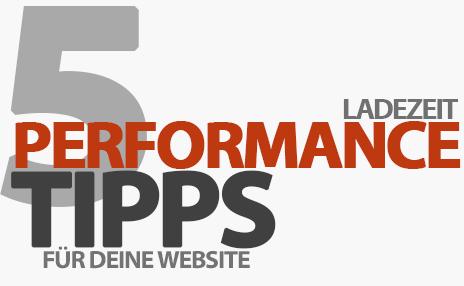 Mehr Performance für eure Website: 5 super einfache Tipps