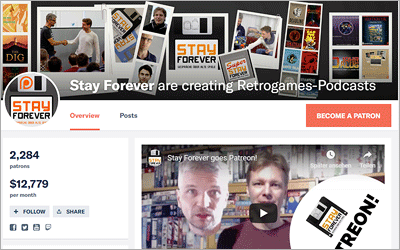 Stay Forever Patreon