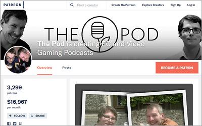 Podcasts mit Patreon monetarisieren - Unterschiedliche Methoden und was diese bringen