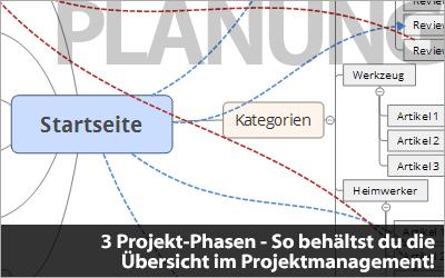 3 Projekt-Phasen - So behältst du die Übersicht im Projektmanagement!