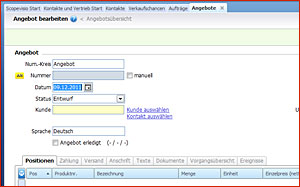 Online-Rechnung Scopevisio