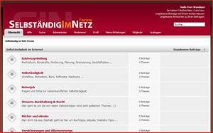 Selbständig im Netz Forum