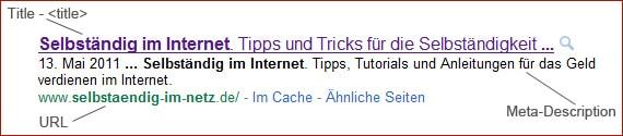 Besseres Ranking in den Suchmaschinen - 1x1 der On-Page und Off-Page-Optimierung