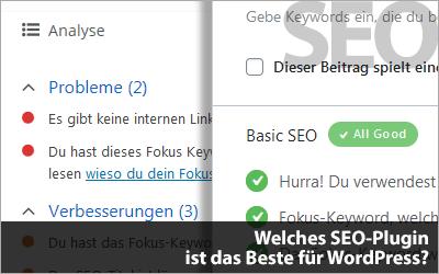Welches SEO-Plugin ist das Beste für WordPress?