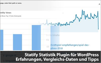 Statify Statistik Plugin für WordPress - Meine Erfahrungen, Vergleichs-Daten und Tipps