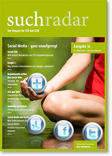 Suchradar #31 - Social Web und SEO