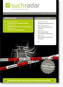 Suchradar #41 - Negative SEO, Relaunch-Tipps, Praxisbeispiele und mehr