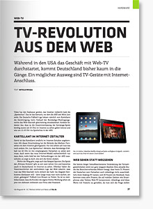 Web- und Business-Magazin t3n #25 im Review