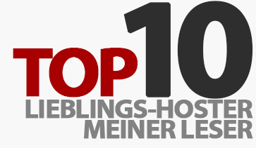 Die Top 10 Lieblings-Hoster meiner Leser!