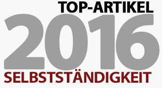 Selbstständigkeit - Top 10 Artikel im Jahr 2016