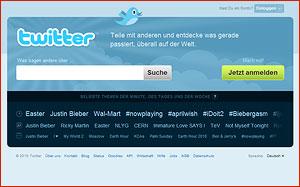 Twitter Schritt für Schritt