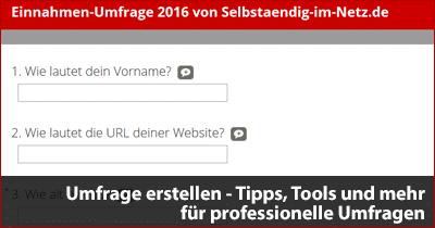 Umfrage erstellen - Tipps, Tools und mehr für professionelle Umfragen