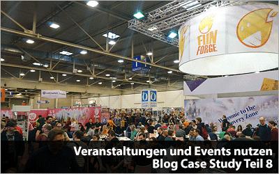 Veranstaltungen und Events nutzen - Messe SPIEL - Blog Case Study Teil 8