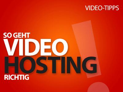 So geht Video Hosting richtig: Tipps und Tricks für Videos auf der eigenen Website
