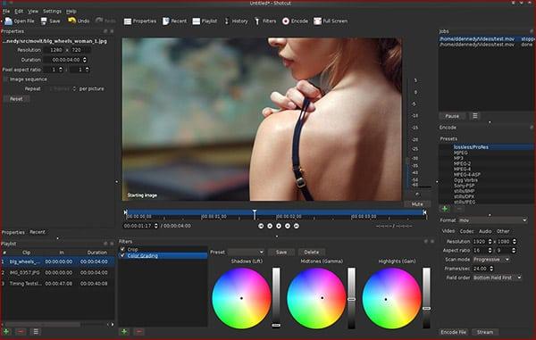 Shotcut: Open-Source-Videobearbeitung mit großem Funktionsumfang