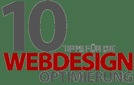 10 Tipps für die Webdesign-Optimierung - Was macht wirklich Sinn?