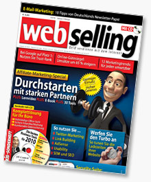 Webselling 1/2010 - Affiliate Marketing Special und mehr