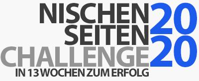 Start der Nischenseiten-Challenge 2020 und Website-Blueprints